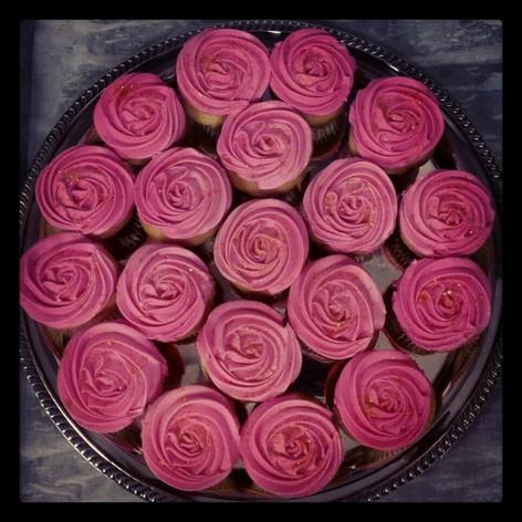 Vanilla and Raspberry Cupcakes