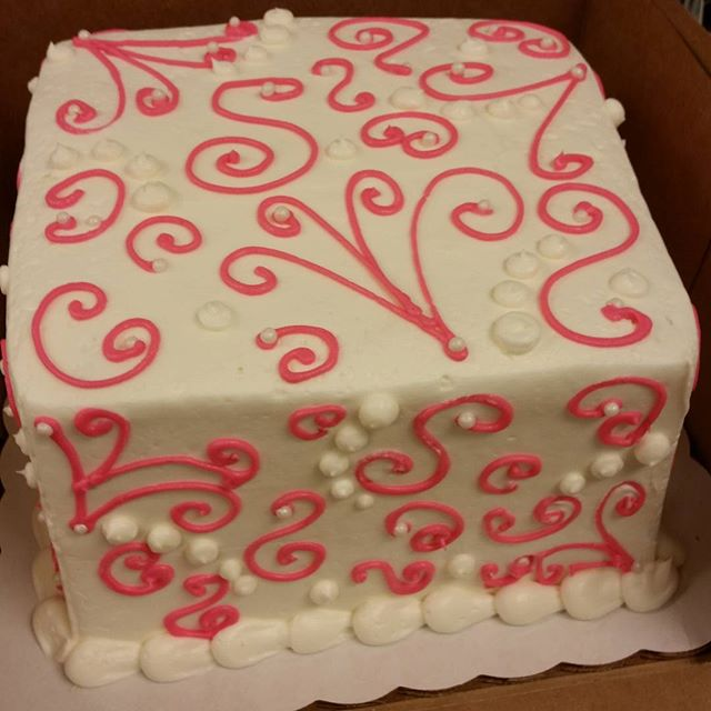 Fancy filigree _) #cakelove #pastrychef