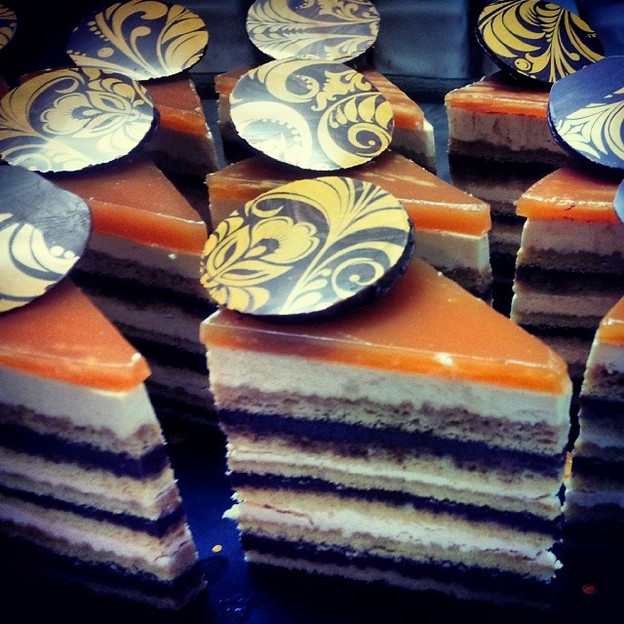 Vanilla Dobos Torte