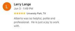 Avpstechnologies Google Review from Larry Lange