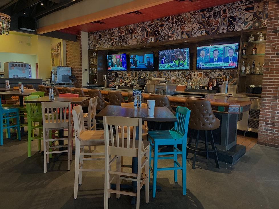 Restaurant & Bar audio visual integration system in Dallas, Texas