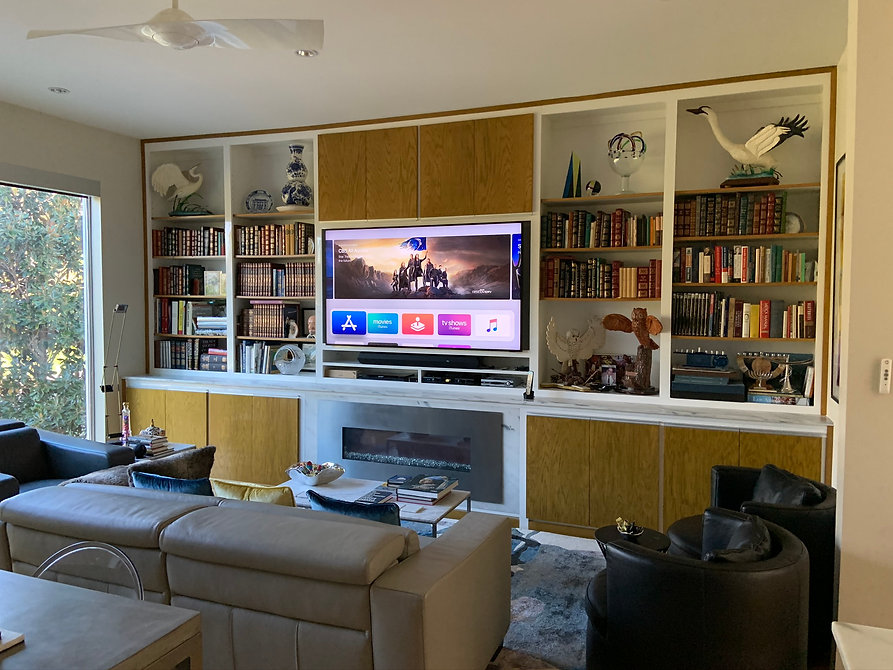 Audio Video Integration home in University Park Dallas