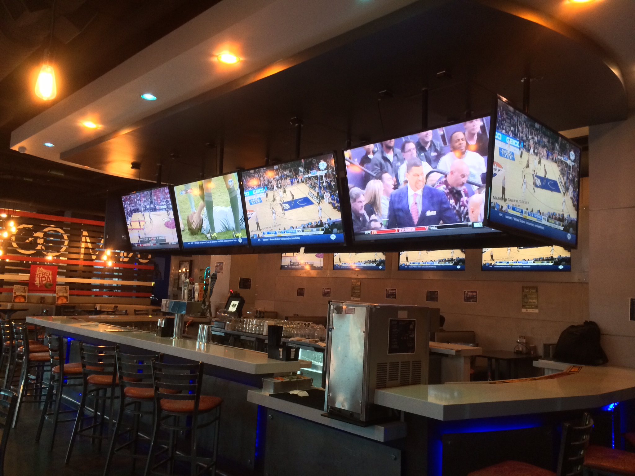 Blazes Sports Grill Bar Project Avpstechnologies