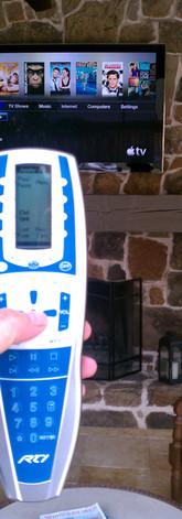 Outdoor RTI Remote Control System