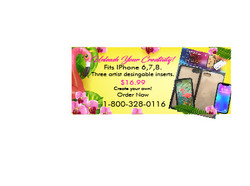 phone case ad colorful