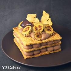 Banana Chocolate Napoleon  香蕉朱古力拿破崙