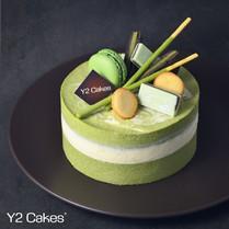 Uji Matcha & White Chocolate Cake  宇治抹茶白朱古力蛋糕