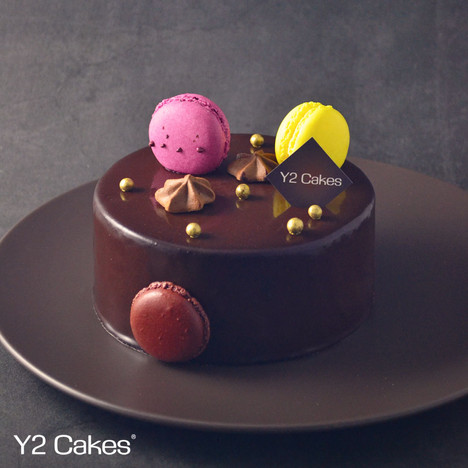64% Choco 比利時黑朱古力蛋糕