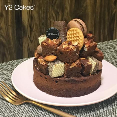 Brownies 焗果仁朱古力蛋糕