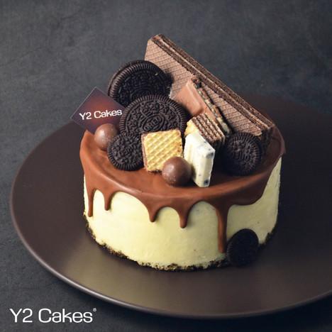 Oreo Cookies Cheese Cake Oreo曲奇芝士蛋糕
