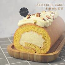 Keto Roll Cake 生酮原味蛋卷