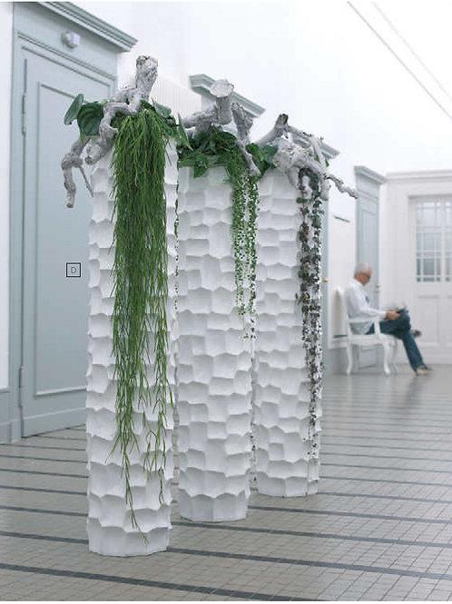 Mosaic Column Planters