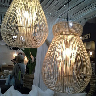 Rattan Wicker Pendant-11209