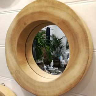 Munggur Wood Mirror-10626