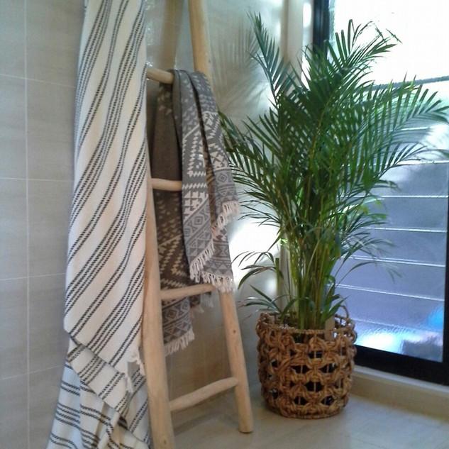 Teak Tree Branche Ladder-10282