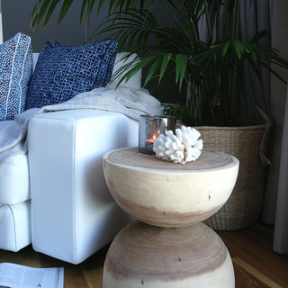 Munggur Stool/Side Table - 12101