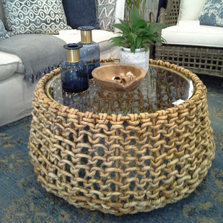 Water Hyacinth Coffee Table - 10842