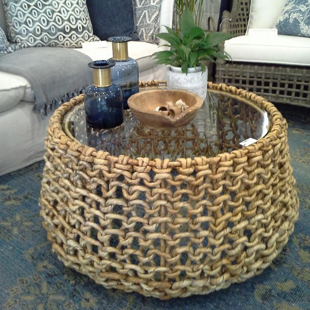 Water Hyacinth Coffee Table - 10842