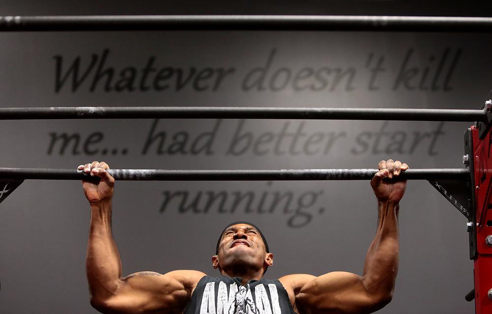 Photo athlete motivational