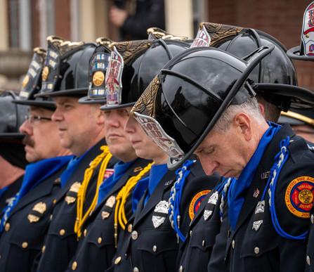 Funeral for Firefighter Jake Ringering.j