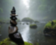 Canva - Cairn, Fog, Mystical, Background