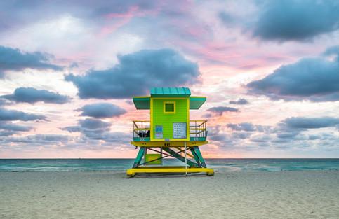 Miami Beach Lifeguard Tower - 6th Street