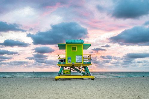 Miami Beach Lifeguard Stand - 6th Street