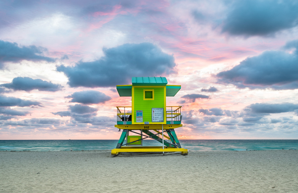 Miami Lifeguard Stand