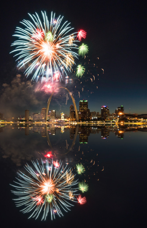 Firework Reflection
