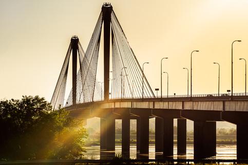 Clark Bridge Sunbow