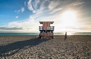 Miami Beach Lifeguard Stand - 13th Street