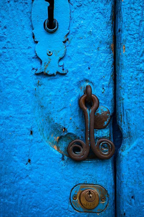 A Very Blue Door