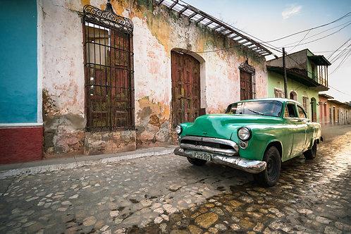 Classic Car Green