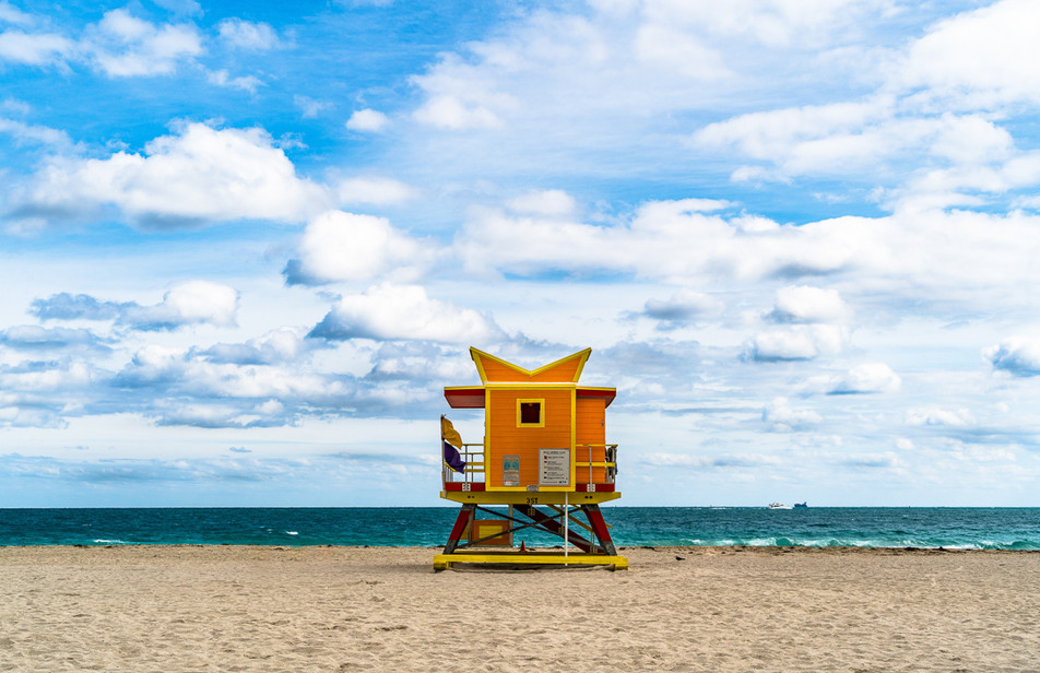 Miami Lifeguard Stand