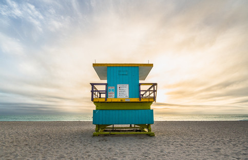 Miami Beach Lifeguard Tower - 16th Street