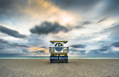 Miami Lifeguard Stands Gallery