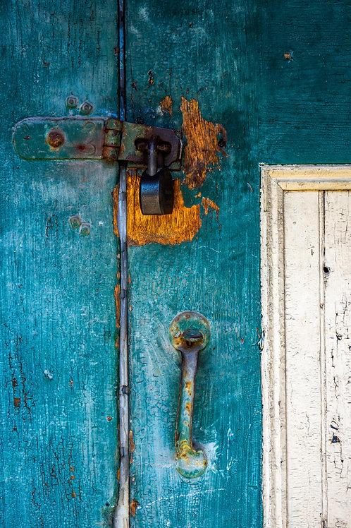 Well-Used Lock