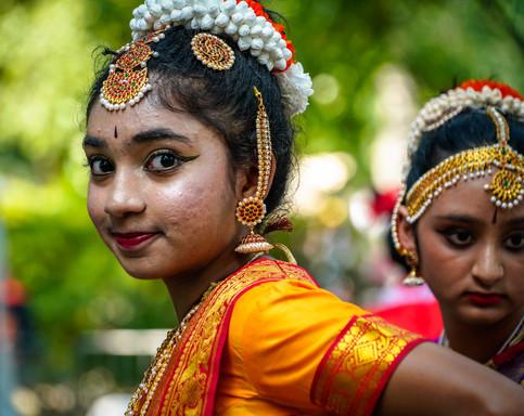 Indian Dancer Festival of Nations