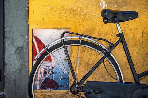 Artistic Graffiti & Bike