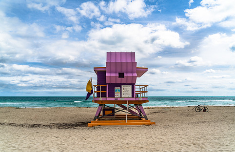 Miami Beach Lifeguard Tower - 100