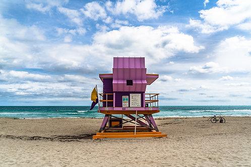Miami Beach Lifeguard Stand 100