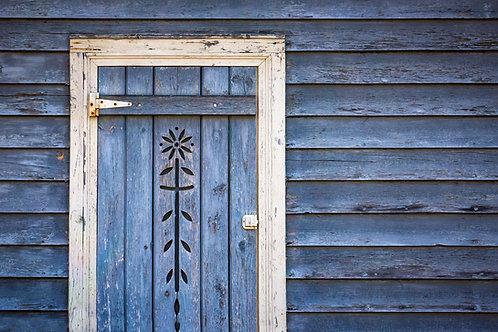 Flowered Door