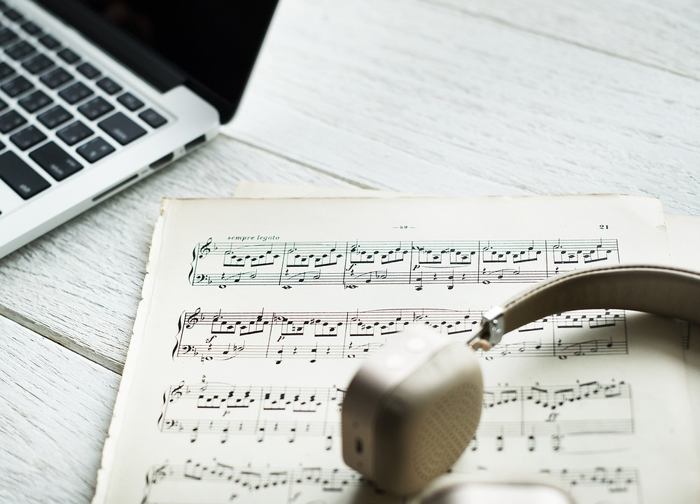 Developing a musical website