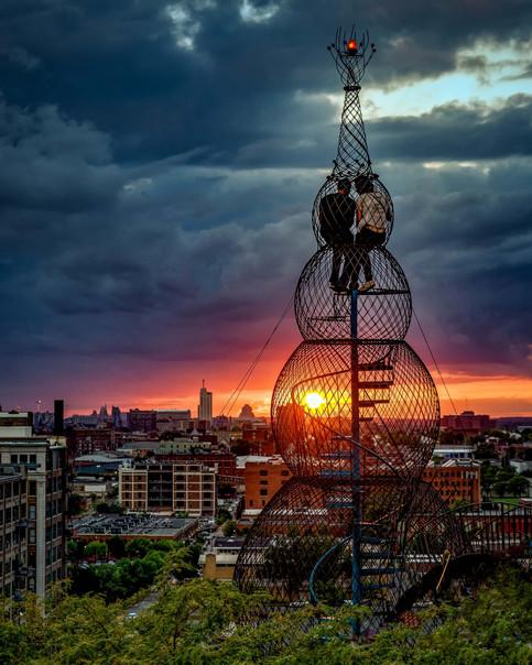 Sunset on the City
