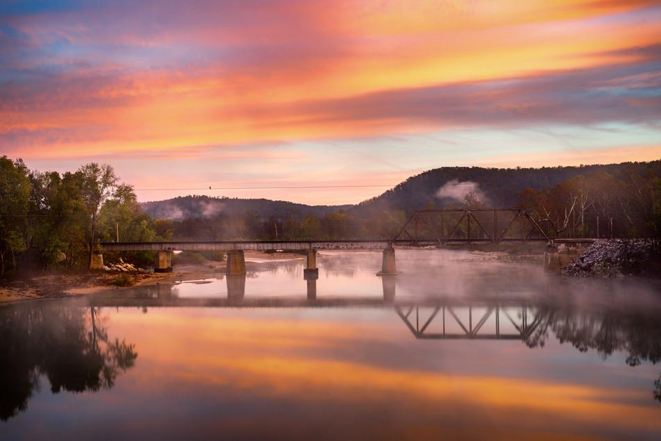 Gasconade River Sunrise