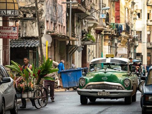 Street Scene Old Havana