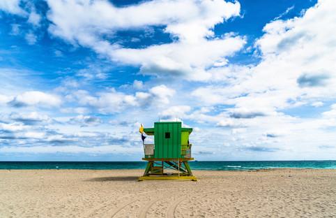 Miami Beach Lifeguard Tower - 4th Street