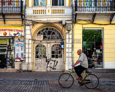 Getting around in Ruse