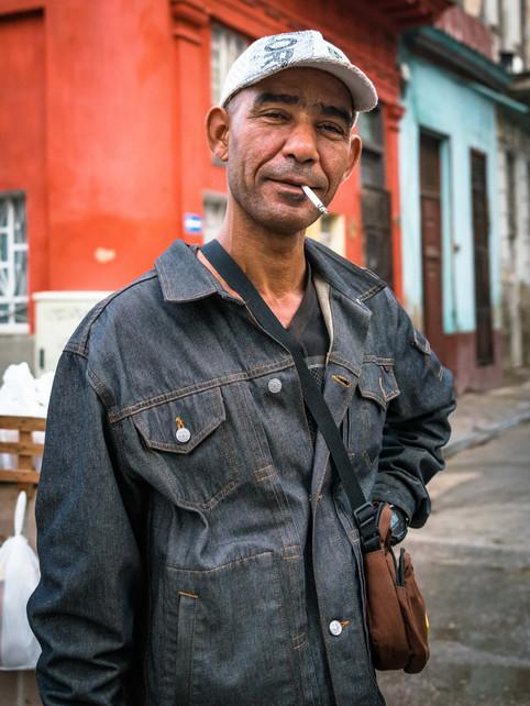 Cuban Street Portrait