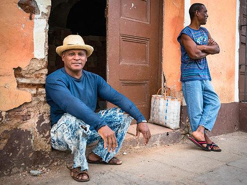 Man from Trinidad